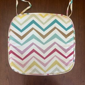 Patterned Pottery Barn Teen Desk Chair Cushion